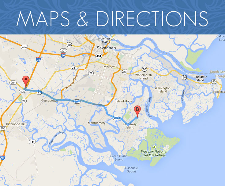 Step by Step Directions to The Landings