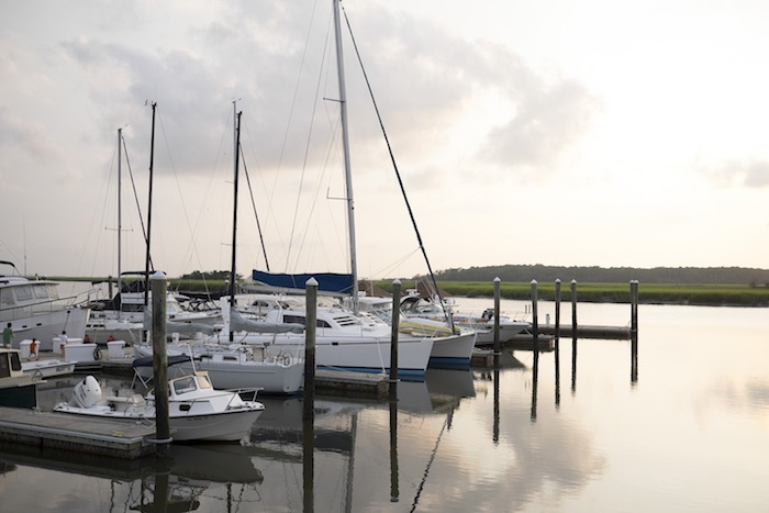 Boats at Degal Creek Marinas at The Landings