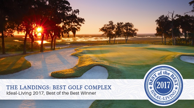 "The Landings on Skidaway Island Named 2017 ""Best of the Best Golf Complex"" by ideal-LIVING Magazine"