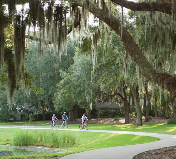 Explore Miles of Trails at The Landings
