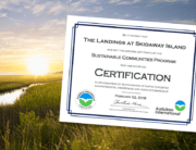landings certified sustainable community