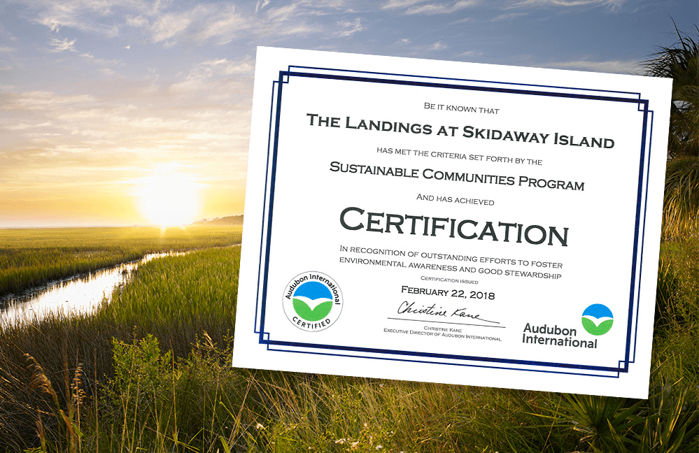 The Landings on Skidaway Island, A Certified Sustainable Community