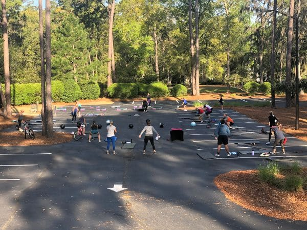 Fitness at The Landings Club during COVID-19