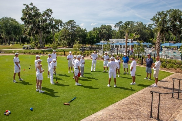 Croquet at The Landings Club